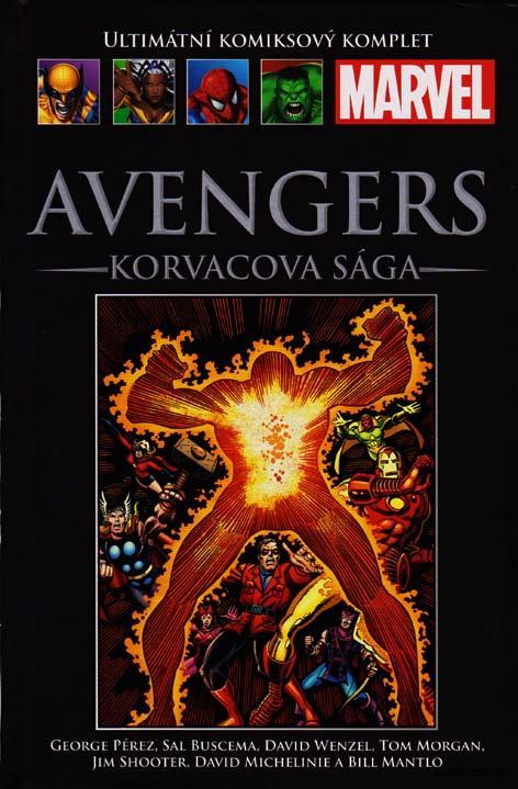 Ultimátní komiksový komplet - Avengers - Korvacova sága  (hřbet119)