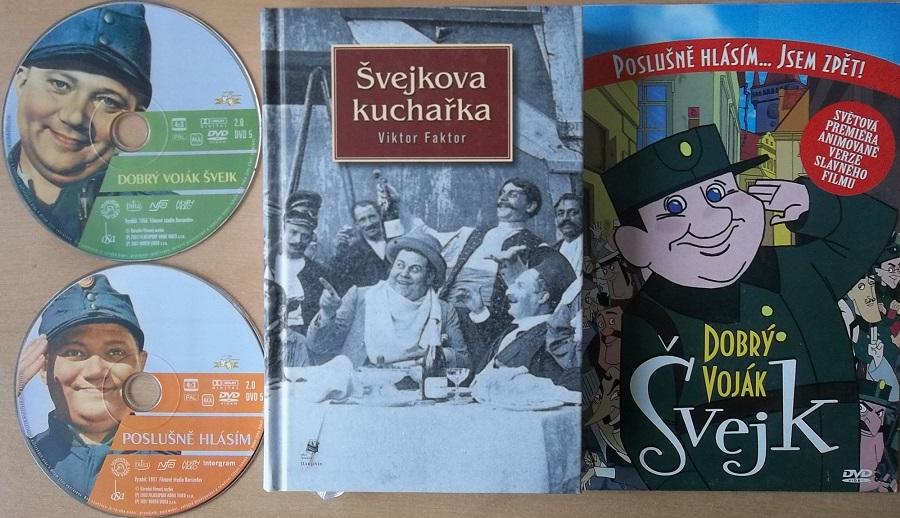 Kolekce Švejk ( 1x kniha+3DVD )