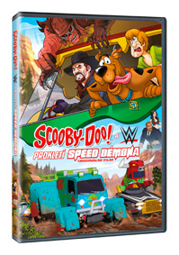 Scooby-Doo WWE: Prokletí Speed Démona - DVD