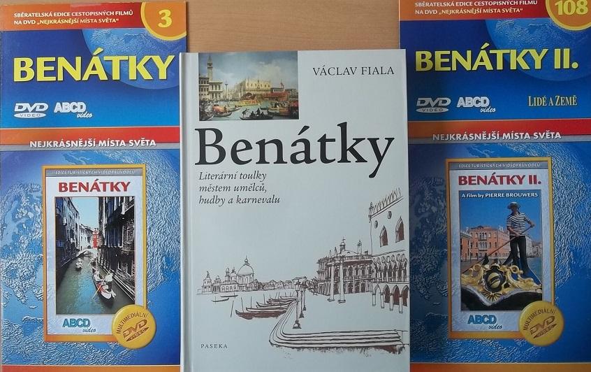 Kolekce Benátky ( 1 kniha + 2x DVD )