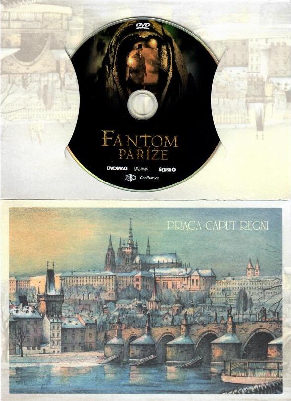 Fantom Paříže - DVD - dárková obálka