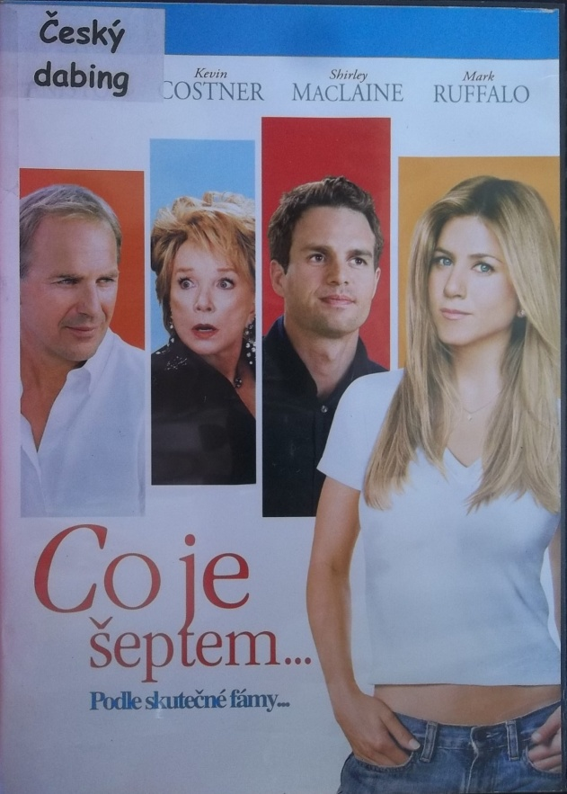 Co je šeptem ... ( Plast ) - DVD
