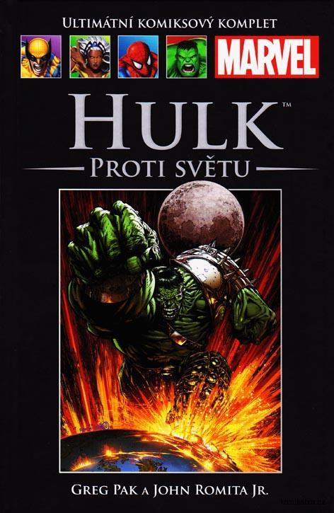 Ultimátní komiksový komplet - Hulk - Proti světu (hřbet 54)