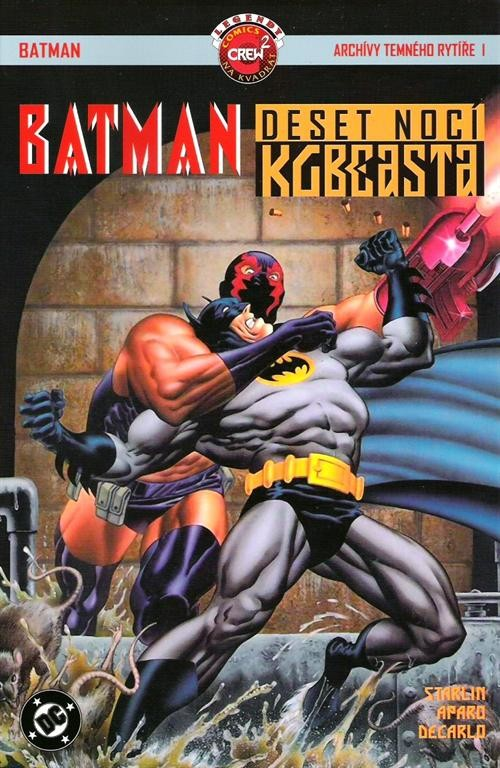 Batman deset nocí KGBeasta - Jim Starlin, Jim Aparo, Mike De  Carlo