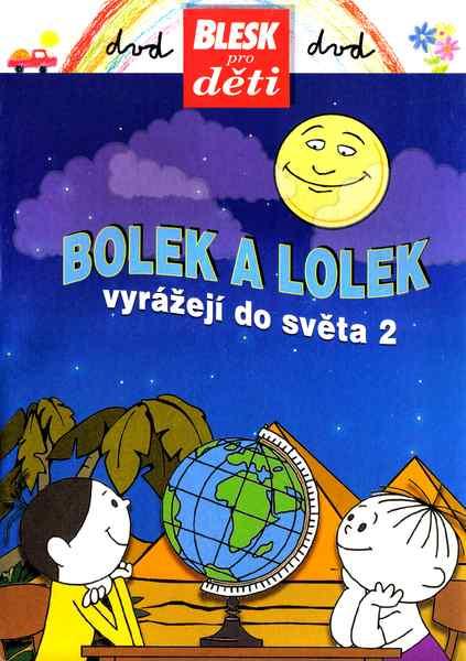 Bolek a Lolek vyrážejí do světa 2 (pošetka) DVD