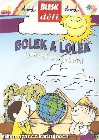 Bolek a Lolek vyrážejí do světa 1 (Pošetka) DVD