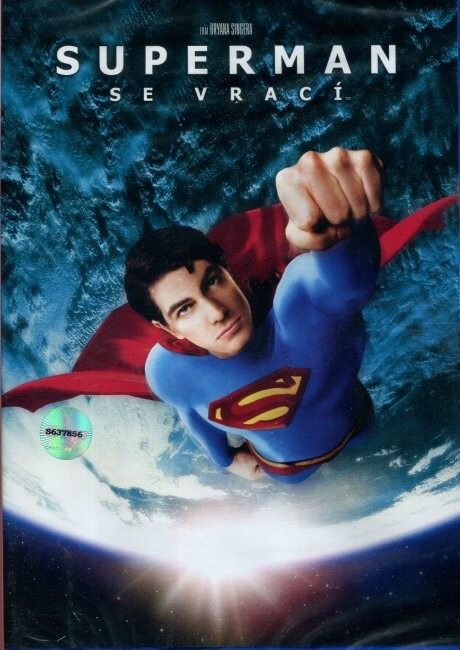 Superman se vrací DVD plast