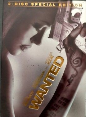 Wanted - steelbook DVD
