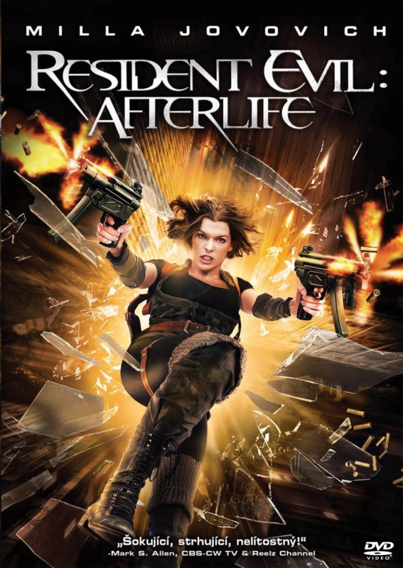 Resident Evil: Afterlife DVD