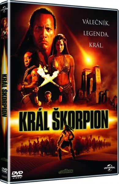 Král Škorpion DVD