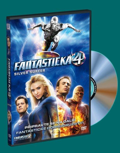Fantastická čtyřka a Silver Surfer DVD plast