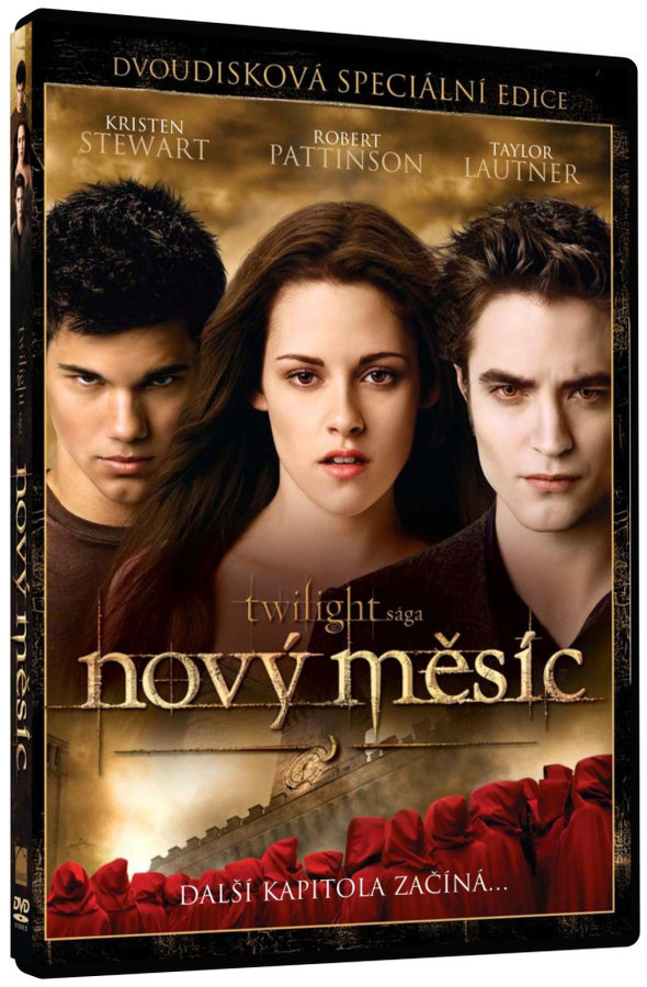 Twilight sága: Nový měsíc - dvoudisková speciální edice DVD