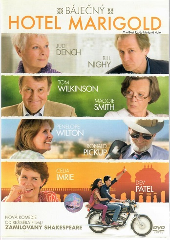 Báječný hotel Marigold - DVD