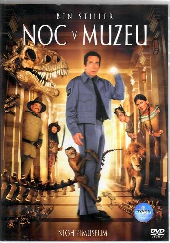 Noc v muzeu ( plast ) - DVD
