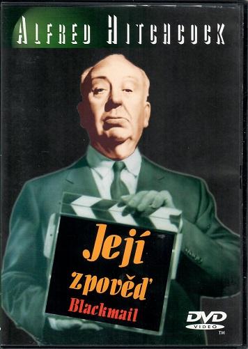 Alfred Hitchcock - Její zpověď ( Originální znění ) - DVD