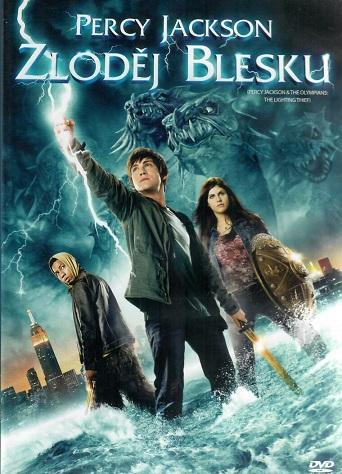 Percy Jackson: Zloděj blesku ( Plast ) - DVD