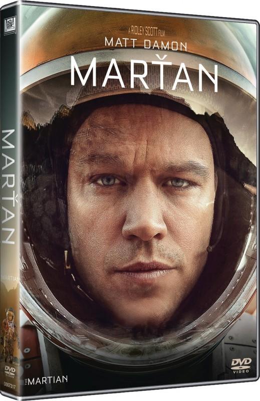 Marťan - DVD plast