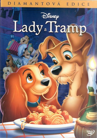 Lady a Tramp ( plast ) - DVD