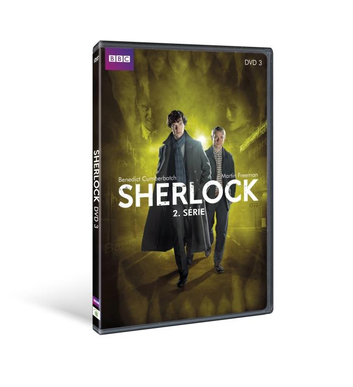 Sherlock - II. série díl 3 - DVD