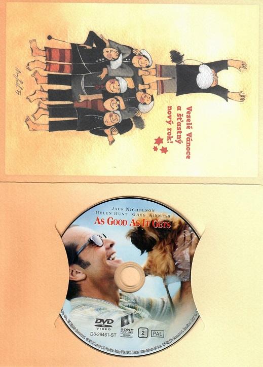 Lepší už to nebude ( Dárkový papír obal ) - DVD