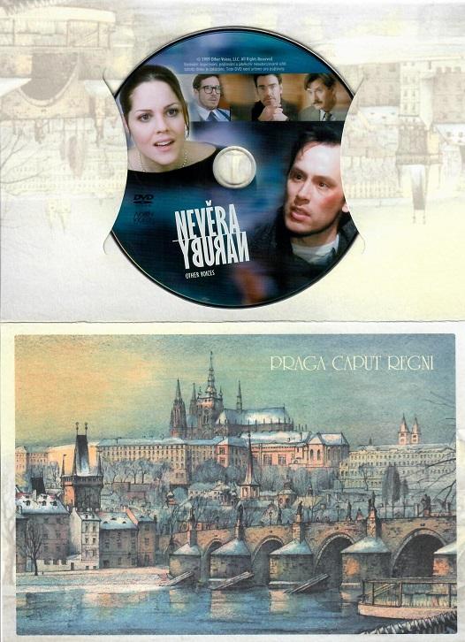 Nevěra naruby ( dárkový papír obal ) - DVD