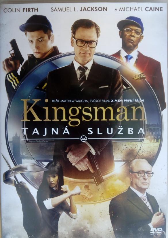 Kingsman: Tajná služba DVD plast