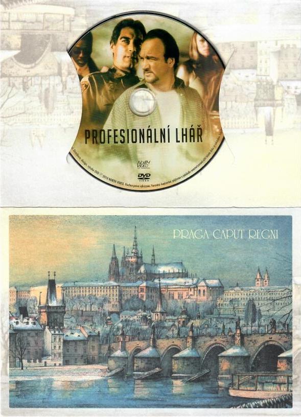 Profesionální lhář - DVD dárková obálka