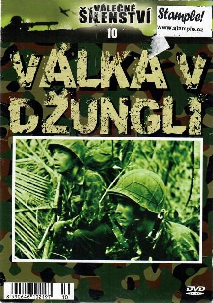 Válečné šílenství  10 - válka v džungli - DVD