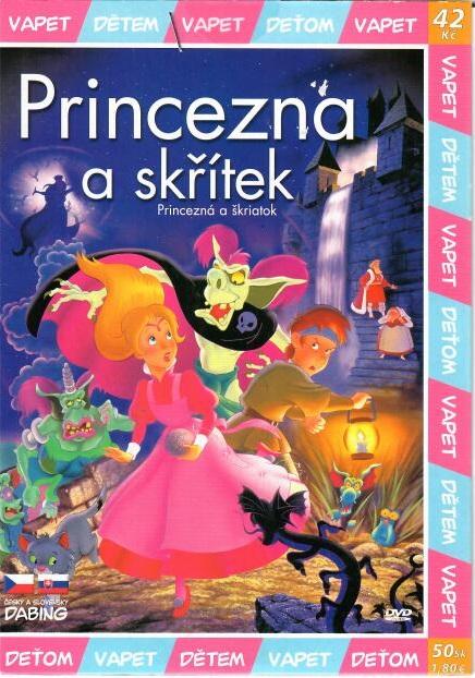 Princezna a skřítek - DVD
