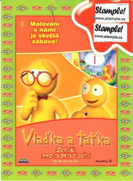 Vlaďka a taťka 8 - DVD