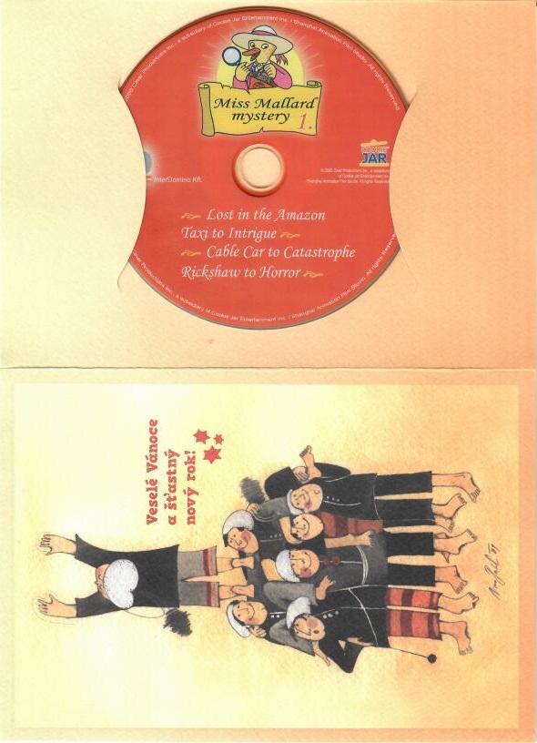 Miss Mallard zasahuje 1. - DVD -  dárková obálka