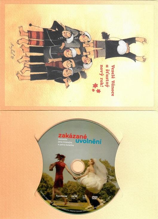 Zakázané uvolnění ( dárkový papír obal ) - DVD