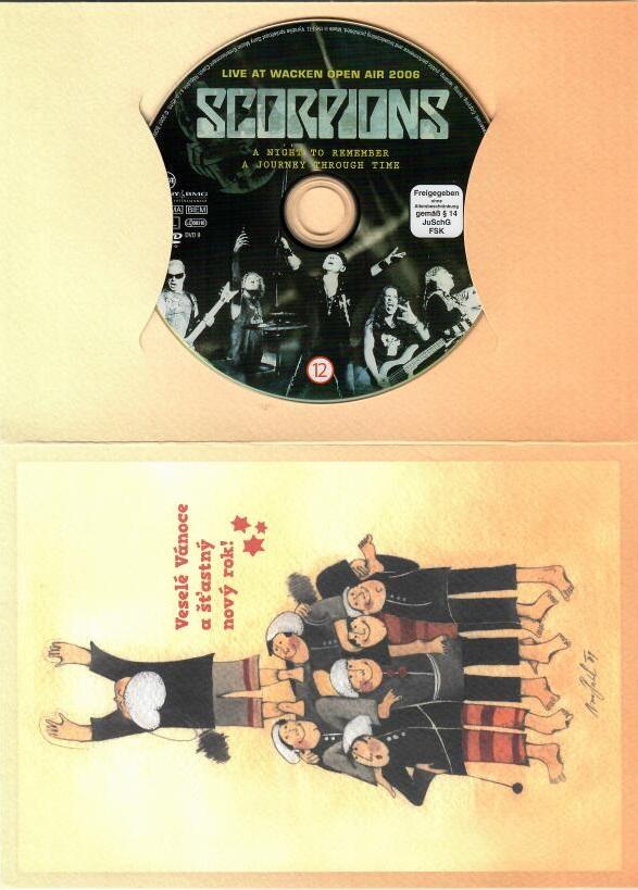Scorpions: Live at Wacken Open Air 2006 DVD - dárková obálka
