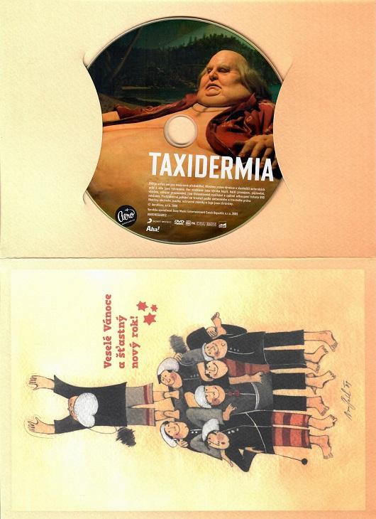 Taxidermia ( dárkový papír obal ) - DVD
