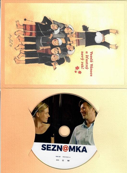 Seznamka ( dárkový papír obal ) - DVD