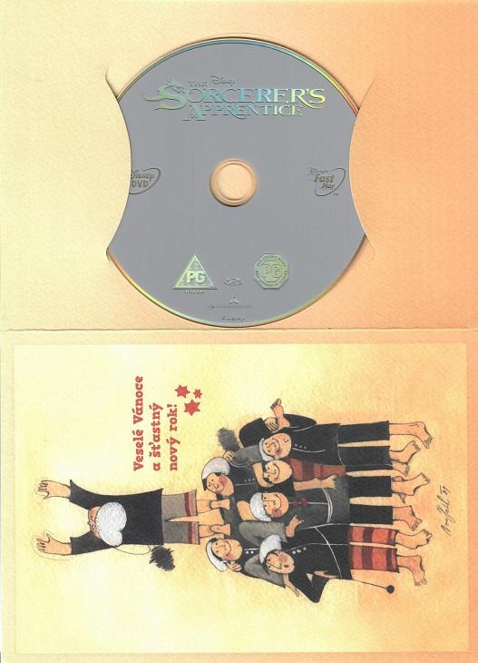 Čarodějův učeň ( dárkový papír obal ) - DVD