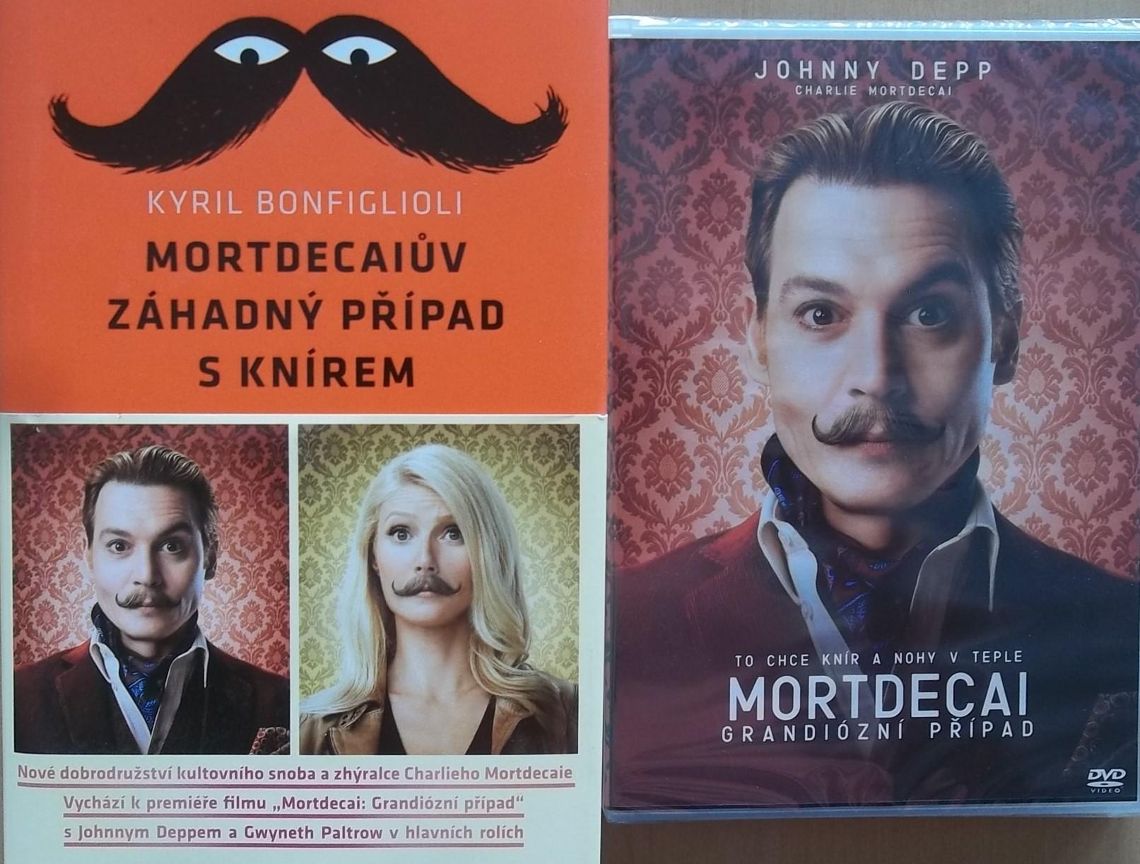 Mortdecaiův záhadný případ s knírem - Kyril Bonfiglioli + DVD DÁREK