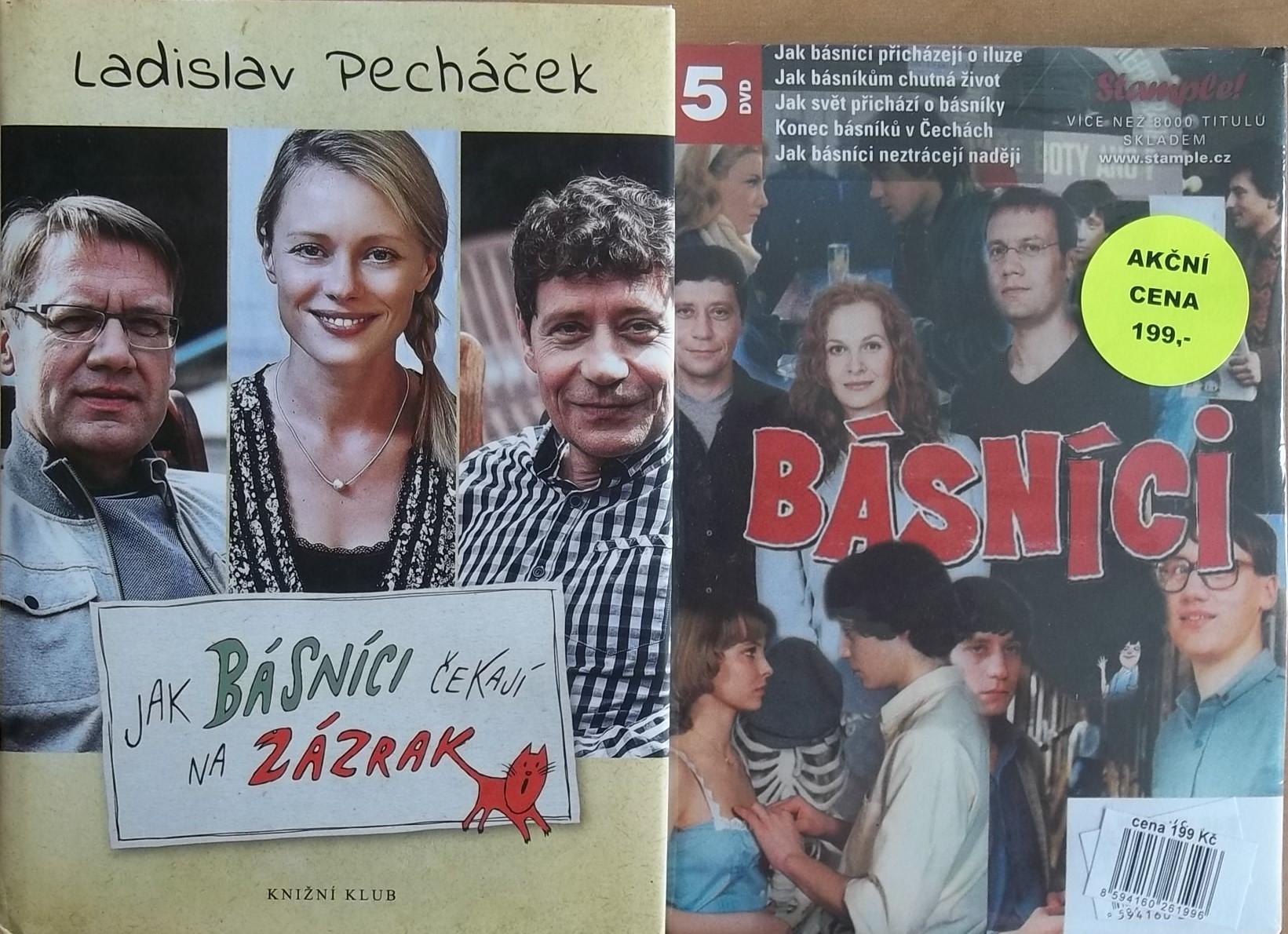 Jak básníci čekají na zázrak - Ladislav Pecháček + 5DVD kolekce  Básníci