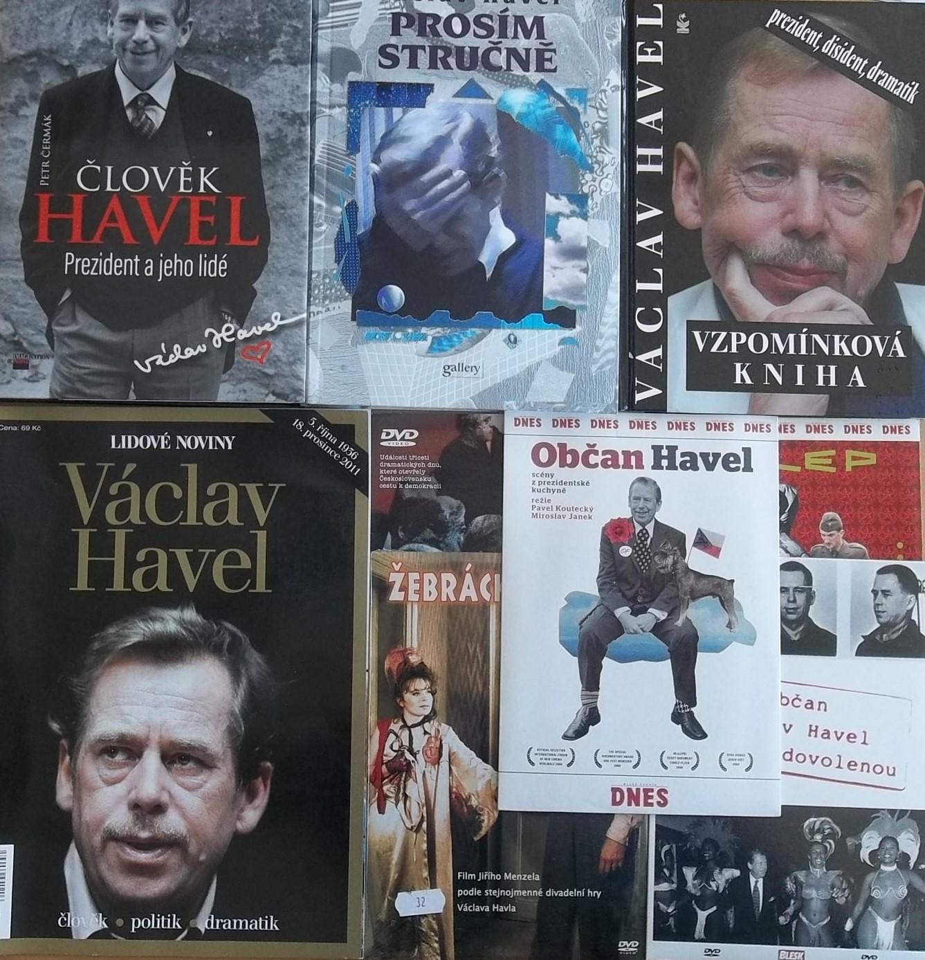 Knižní kolekce Václav Havel + 5DVD  zdarma