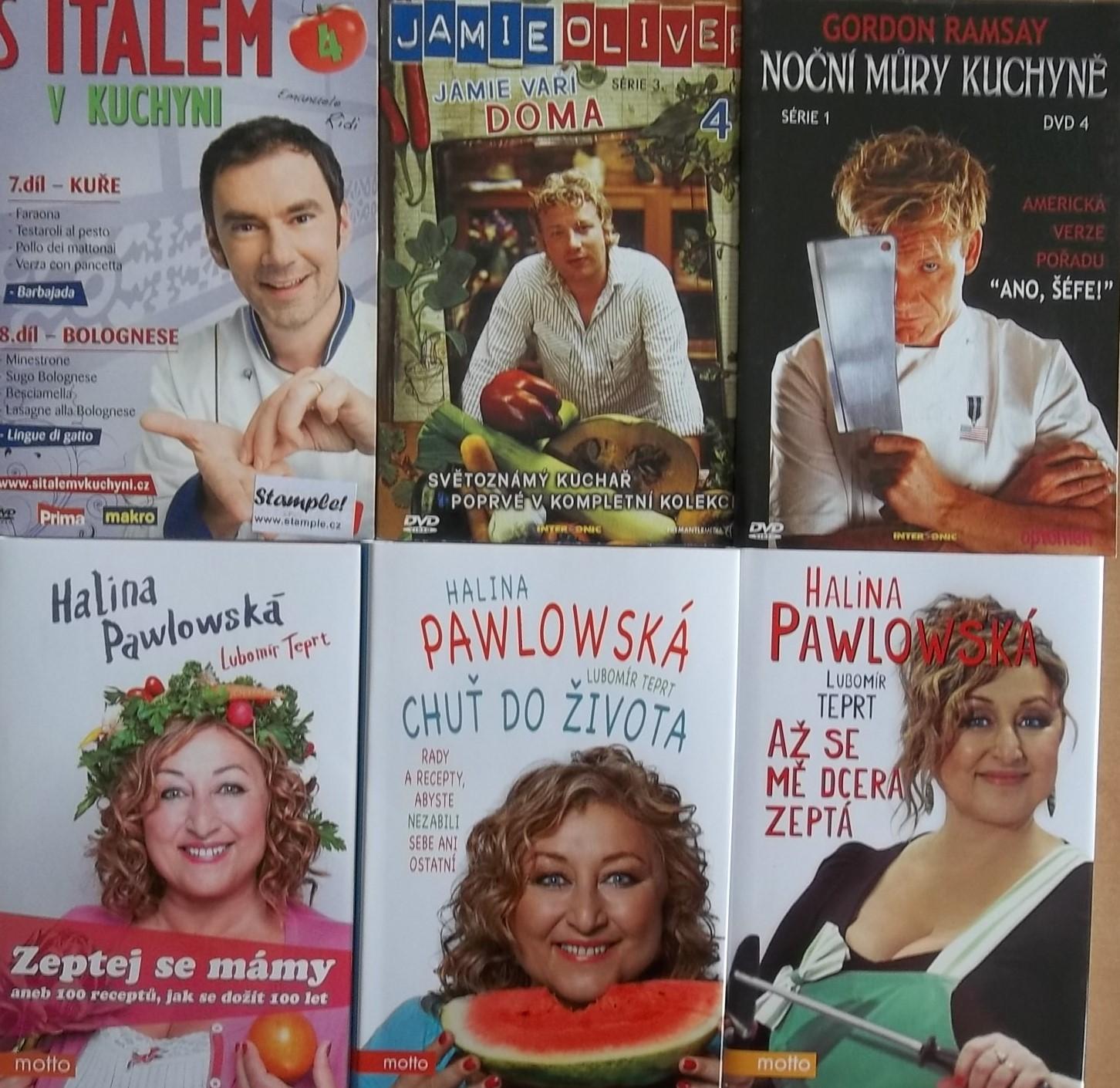 S Halinou v kuchyni - 3kuchařky Haliny Pawlowské + 3DVD dárek