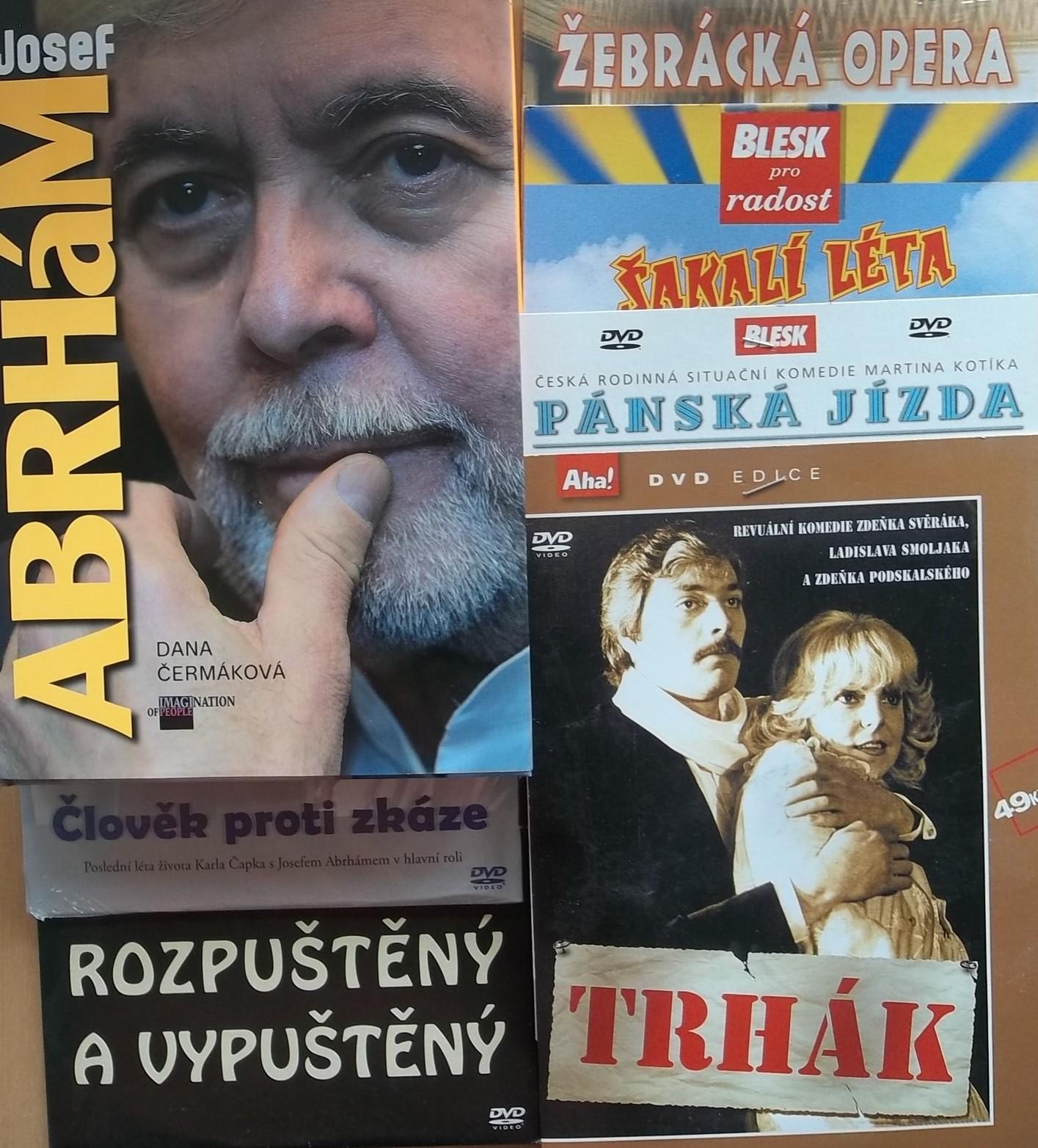 Josef Abrhám - Dana Čermáková + 6DVD kolekce