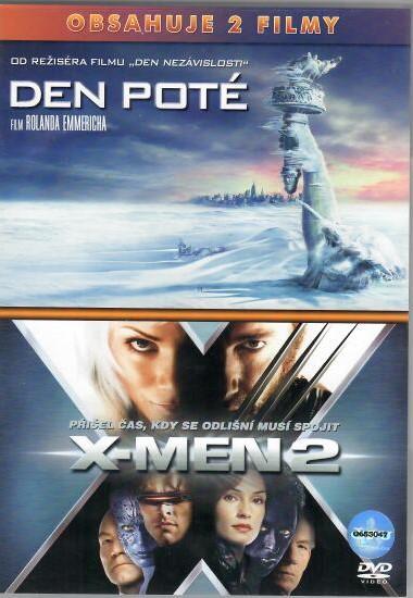 Den poté/X-MEN 2 - 2 DVD