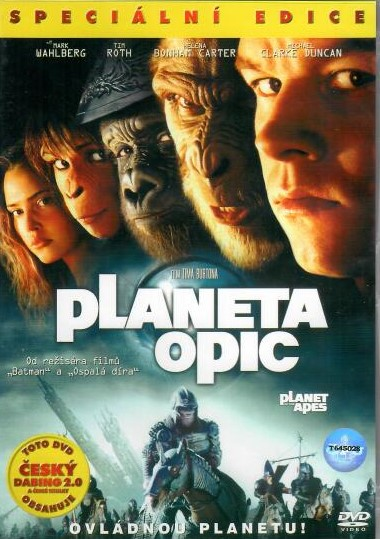 Planeta opic (2001) - DVD