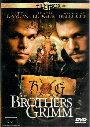 The brothers Grimm /Kletba bratří Grimmů - plast DVD