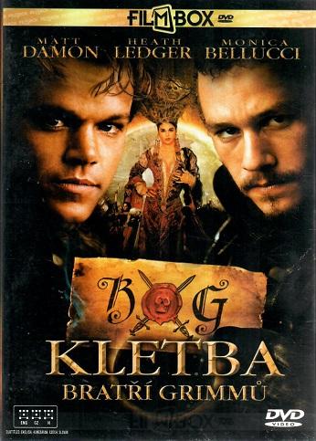 Kletba bratří Grimmů / The brothers Grimm - plast DVD