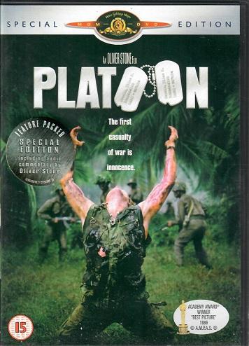Platoon / Četa ( originální znění, CZ titulky ) plast DVD