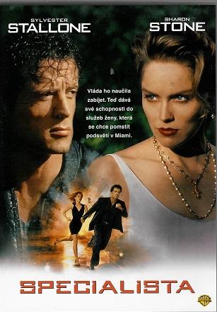 The Specialist  - Specialista ( Plast ) DVD