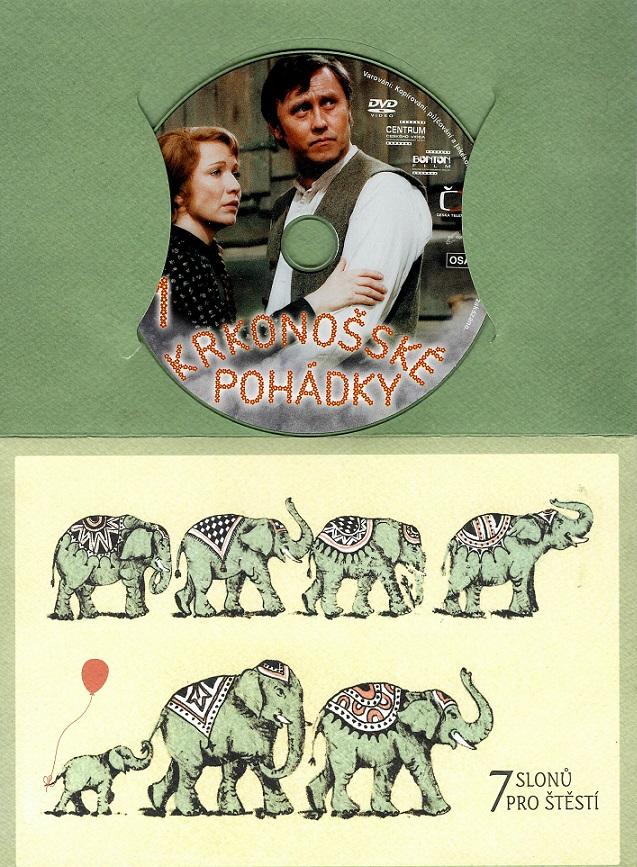 Krkonošské pohádky 1 ( dárkový papír. obal ) - DVD