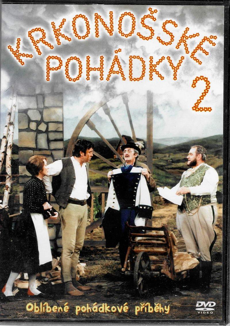 Krkonošské pohádky 2 - DVD plast