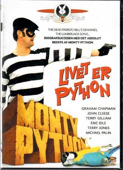 Livet er Python (A teď něco úplně jiného) - DVD